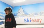 smiling ski
