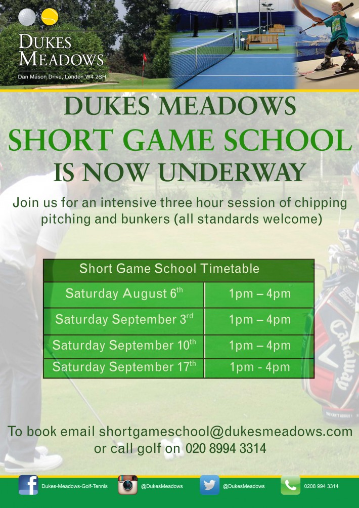 short game school_August - Sept update