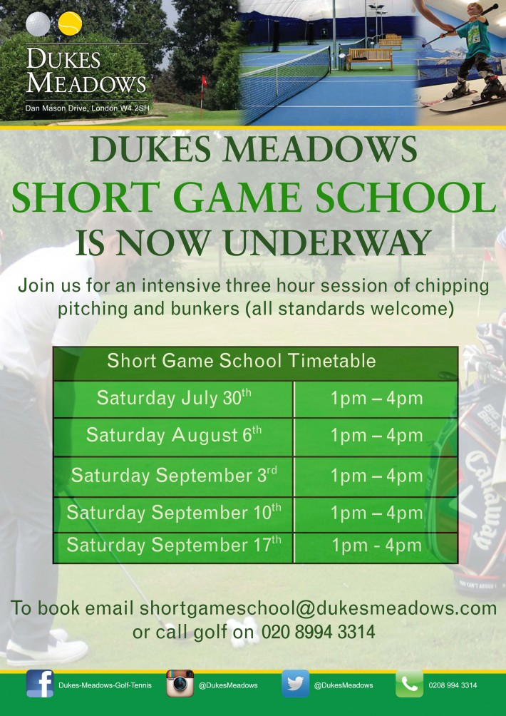 short game school_July - Sept update