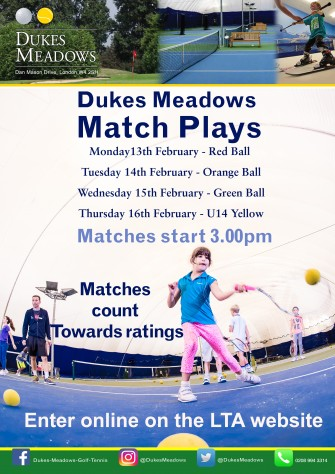 Match plays February 17