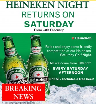 Heineken Club Saturday