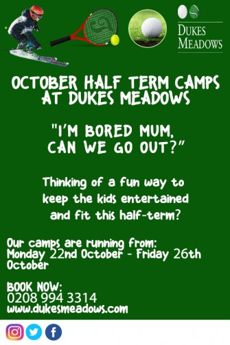 CAMPS POSTER TO SEND CHISWICK