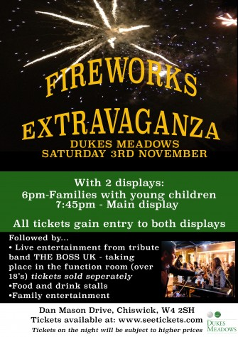 FIREWORK POSTER- SEND TO MARIAN