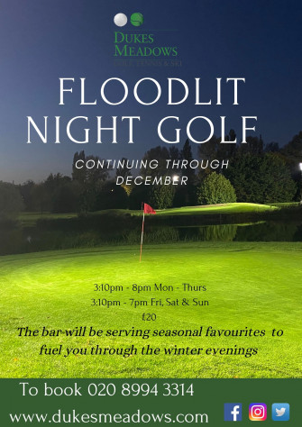 Night golf is back!